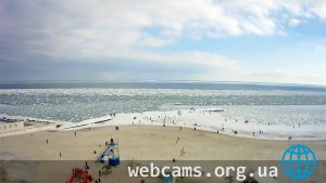 Webcam on the beach «10-th station» of Big Fountain