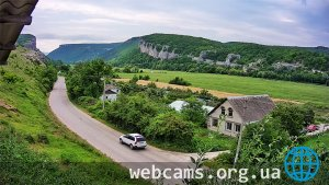 Webcam in the Belbek Valley of the Crimea