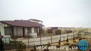 Webcam in a conservation area of the Biruchiy island in Kirillovka