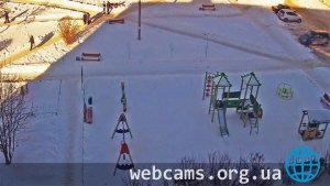Webcam at the playground in Kashira