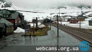 Live webcam of the railway station Finse