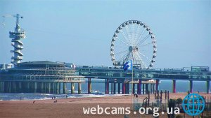 PTZ webcam on the beach of Scheveningen