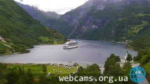 Hotel Union Geiranger Webcam
