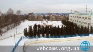Webcam on fountain in Kashira-2