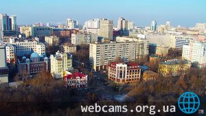 PTZ webcam in Khabarovsk city