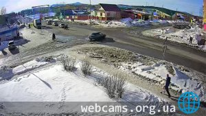 Webcam at the intersection of Lenin-Oktyabrskaya in Severouralsk