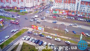 Webcam at the crossroads of Mayakovsky and Zhukov