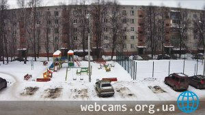 Online webcam at the playground on Sadovaya Street, 20