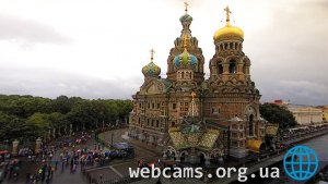 Saviour on the Blood Cathedral Webcam