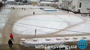 Webcam at the Central Square of Shuya city