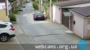 Webcam in Rakhmaninov Lane in Sochi
