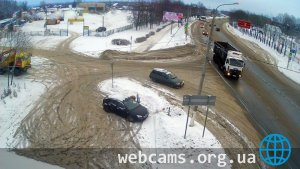 Webcam on Streletskaya Street, Kashira