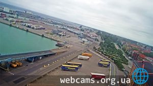Port of Trelleborg webcam: terminal