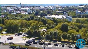 Webcam on the building of the Vladimir Region Administration